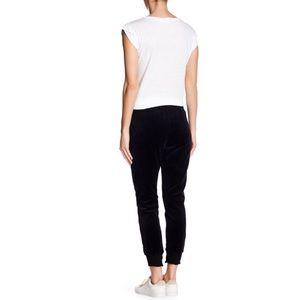 Pam & Gela Pants - PAM AND GELA Lace Up Cropped Sweatpants